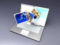 Digital Photo Gallery Stock Photos