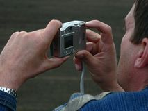 Digital photographer Stock Photography