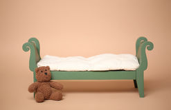 Digital Photography Background Of Isolated Vintage Baby Bed Royalty Free Stock Photo