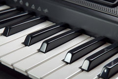 Digital piano Royalty Free Stock Photo
