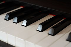 Digital Piano Stock Photo
