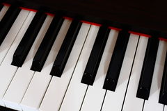 Digital Piano stock image
