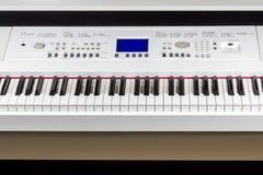 Digital piano synthesizer Stock Photos