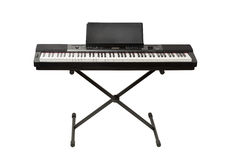 Digital piano synthesizer Stock Image
