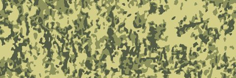 Digital pixel camouflage abstract pattern green leaves color background royalty free stock photography