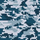 Digital pixel camouflage Royalty Free Stock Photos