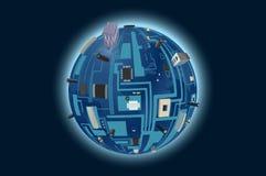 Digital planet Stock Images
