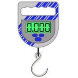 Digital Portable Weighing Scale Royalty Free Stock Photography