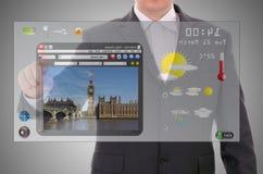 Digital presentation of London Stock Photography