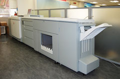 Digital press printing - book print Stock Photography