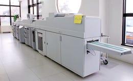 digital pressprinting arkivfoto