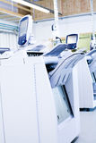 Digital printing machines stock photography