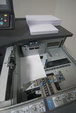 Digital printing. In printing office stock photography