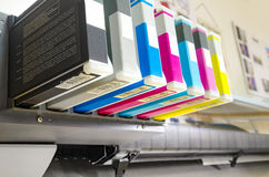 Digital printingcartriges arkivbild