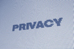 Digital Privacy Royalty Free Stock Photography