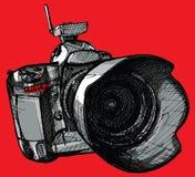 Digital professional camera Royalty Free Stock Image