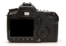 Digital professional camera Royalty Free Stock Photo