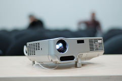 Digital Projector. Video projector for work presentation or home cinema entertainment stock image