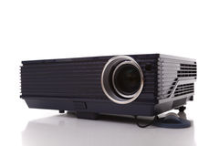 Digital Projector. Professional digital projector isolated on white (selective focus stock images