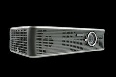 Digital Projector isolated on black Stock Images
