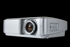 Digital Projector isolated on black Royalty Free Stock Photography