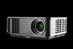 Digital Projector isolated on black Stock Photo