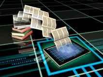 Digital Publishing Stock Photo