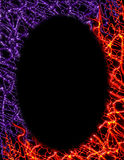Digital-purpurrotes Feuer-Feld Lizenzfreies Stockbild