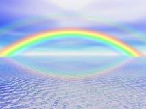 Digital Rainbow Royalty Free Stock Image