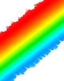 Digital Rainbow Royalty Free Stock Photography