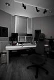 Digital recording studio stock photography