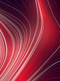 Digital red colored lines abstract background. 3d rendering Royalty Free Stock Photo