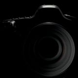 Digital reflex camera Royalty Free Stock Images