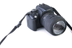 Digital reflex camera Royalty Free Stock Image