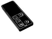 digital remote för kamerakontroll Royaltyfria Bilder