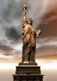 Digital Rendering of the Statue of Liberty Royalty Free Stock Images