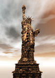 Digital Rendering of the Statue of Liberty Royalty Free Stock Photos