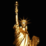Digital Rendering of the Statue of Liberty Stock Photos