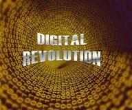 Digital Revolution Concept Futuristic Industry 3d Rendering. Shows Innovation Improvement And Transition Of Network Data vector illustration