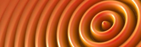 Digital ripple background Stock Image
