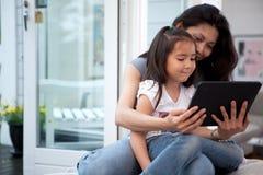 digital rolig tablet Arkivfoton
