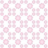 Digital rosa blommapapper Arkivfoto