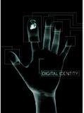digital säkerhet royaltyfri illustrationer