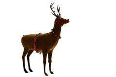 Digital santas reindeer with bells Royalty Free Stock Photos