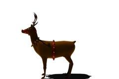 Digital santas reindeer with bells Royalty Free Stock Photo