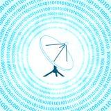 Digital satellite dish Royalty Free Stock Images