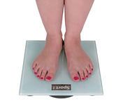 Digital scale says sport Royalty Free Stock Photos