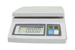 Digital scales Royalty Free Stock Photography