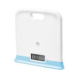Digital scales on white background Royalty Free Stock Photos