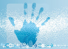 Digital Scan Stock Images